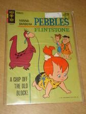 PEBBLES FLINTSTONE #1 VG+ (4.5) GOLD KEY COMICS SEPTEMBER 1963 SCARCE