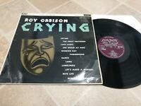 ROY ORBISON Crying London UK 1st Press Mono LP 1962 Matrix 1A/ -1A. Flipback
