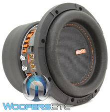 "MEMPHIS MJM644 6.5"" MOJO MINI SUB 1400W DUAL 4-OHM SUBWOOFER BASS SPEAKER NEW"