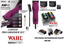 Wahl KM10 ULTIMATE CLIPPER&10,30 Blade&Stainless Steel Guide Attachment COMB KIT