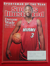 2006 NBA MIAMI HEAT DWYANE WADE SPORTSMAN OF THE YEAR Sports Illustrated