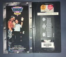 WCW Starcade 97 (VHS, 1997) (Misprint Labeled 1998) WWE WWF NWO HULK HOGAN STING