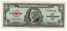 REPUBLIQUE DE CU BA5 PESOS 1960