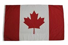 CANADA 3 X 5 FEET LARGE COUNTRY FLAG BANNER ... CANADIAN (92 CM X 152 CM) .. NEW