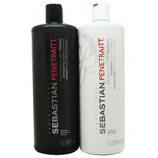 Sebastian Penetraitt Shampoo & Conditioner 1 Liter/33.8oz Duo
