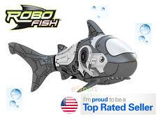 Hot Gift Robo Shark Battery Powered Robo Shark Toy Children Kids Pet (Grey)