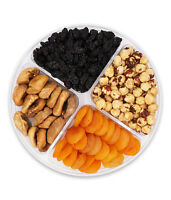 Gourmet Nuts and Fruits Gift Baskets Sectional Gourmet Assortment