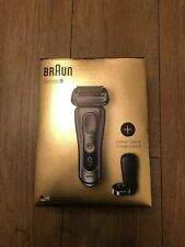 Braun Series 9 9359ps Wet&Dry Electric Shaver New Silver .