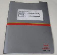 Werkstatthandbuch Seat Ibiza Cordoba Bremsanlage ab Baujahr 2002 / 2003