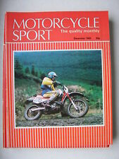 December Motorcycle Sport Monthly Transportation Magazines