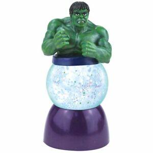 Westland Giftware Sparkler Water Globe Figurine 35mm, Marvel The Incredible Hulk