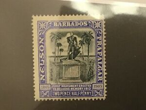 ICOLLECTZONE Barbados 106 F/VF hinged hr