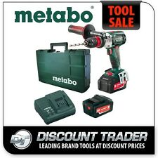 Metabo 18V Lithium-Ion Brushless Hammer Drill Impuls Kit - SB 18 LTX BL 5.2Ah