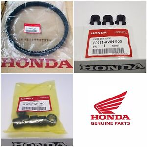 Honda GENUINE PCX 125 Drive Belt Kit + Roller Weights + Sliders 2018 2019 2020