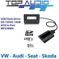 Car USB Flash MP3 SD AUX Input for VW Audio Kits Interface Adaptor