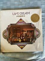 """LIVE CREAM VOLUME II"" 1972 NEW/SEALED ORIGINAL US ATCO RADIO/PROMO LP clapton"