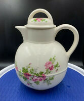 vintage Royal Crownford Ironstone Staffordshire TEAPOT England Summer Memories