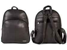 Womens Backpack Ladies Faux Leather Black Shoulder Bag Handbag School Bag
