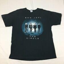 Bon Jovi The Circle Tour T-Shirt 2010 Black Large