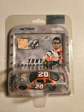 2004 #20 Tony Stewart Home Depot 25 Years Silver 1/64 NASCAR Action Diecast MIP