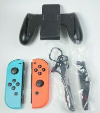 Nintendo Switch - Joy-Con (L/R)-Neon Red/Neon Blue And a Black Controller
