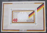BRD Briefmarken 1974 Block 10 25 Jahre Bundesrepublik Postfrisch