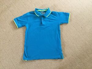Turquoise Polo Shirt By Blue zoo Debenhams In Size 9-10 Years