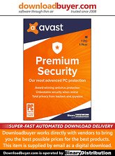 Avast Premium Security 2020 - 1PC - 1 Year - [Download]