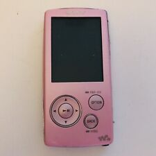 Sony Walkman NWZ-A816 MP3 Digital Media Player Pink Untested For Parts or Repair