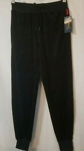Polo Ralph Lauren Mens Size Small Cotton Velour Jogger Sleep Pants Black NWT