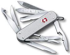 Coltello coltellino Multiuso Svizzero Victorinox Minichamp Alox silver