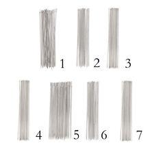 30 Stück Metallperlen Nadeln Perlen Nadel Nähen Handwerk String Threading