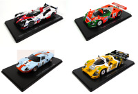 Set of 4 Model Cars 24h Le Mans - 1:43 Spark Diecast Racing Car LM31