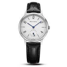 Seagull Ultra Thin 8mm Mechanical Hand Wind Men's Watch D819.612 Sapphire Window