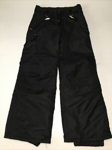 Champion C9 Kids Youth Girls  Snow Ski Pants Venture Dry black  Size 7/8