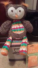 Scentsy Buddy OLYMPIA THE OWL Stuffed Plush NIB & Sunkissed Citrus Scent Pak