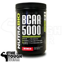 NUTRABIO BCAA 5000 400grams - Watermelon - INSTANTIZED BRANCH CHAIN AMINO ACIDS