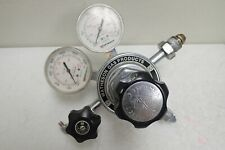 Matheson Gas Products Model 3104C Pressure Regulator with 2 Gauges