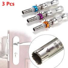 3pcs New 7Pins Adjustable Tubular Lock Pick Tools Safe Box 7.00MM 7.5MM 7.8MM