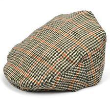 Flat Cap Hat Tweed Country Classic Brown Mens Golf Gatsby Baker Newsboy