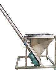 Screw Type Powder Automatic Feeding Machine 220v 1kw with Decelerating Motor