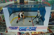 1997 Starting Lineup NHL Freeze Frame One on One Paul Kariya & Eric Lindros