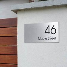 CUSTOM 300 x 150 Street Name HOUSE SIGN PERSONALISED Address PLAQUE House NUMBER