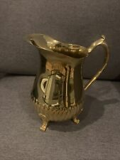 Golden 49'ers Series 24kt gold electroplate pitcher Wmf of America #6396