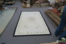 "Antique Ethnic Arabic Suzani Embroidery Tablecloth 50"" x 84""  Sofre Figure Camel"