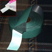 """Green Heat Transfer Reflective Film Iron On Material 2""""x3.3ft (50mmx1M)"""