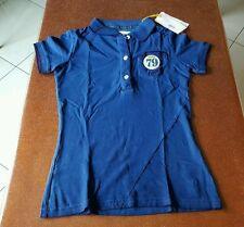 Polo guru donna tg. S blu royal maglietta t-shirt