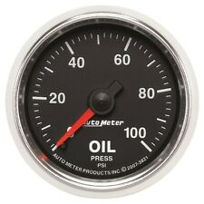 AutoMeter 3821 GS Mechanical Oil Pressure Gauge
