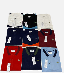 Men's Lacoste Regular Polo T-Shirt's in Different Colours and Sizes.