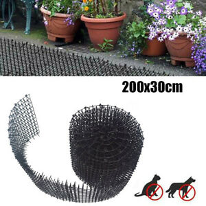 Plant Prickle Strip Dig Stopper Anti Dog Cat Protection 2M Garden Netting